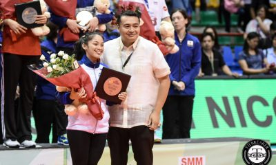 Tiebreaker Times On the same day Dawn Macandili was MVP, she bags another prestigious award 2017 Asian Women's News Volleyball  Francis Vicente Dawn Macandili