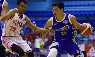 Tiebreaker Times Toughest of Tuesdays for Jeron Teng, Flying V Basketball News PBA D-League  Jeron Teng Flying V Thunder 2017 PBA D-League Season 2017 PBA D-League Foundation Cup