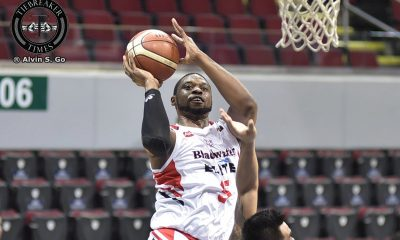 Tiebreaker Times Henry Walker's 30-30 lifts Blackwater in 2OT, continues Alaska's alarming woes Basketball News PBA  Sonny Thoss Simon Enciso PBA Season 42 Mike DiGregorio Leo Isaac LaDontae Henton JVee Casio JP Erram Henry Walker Chris Banchero Blackwater Elite Bam Gamalinda Alex Compton Alaska Aces 2017 PBA Governors Cup