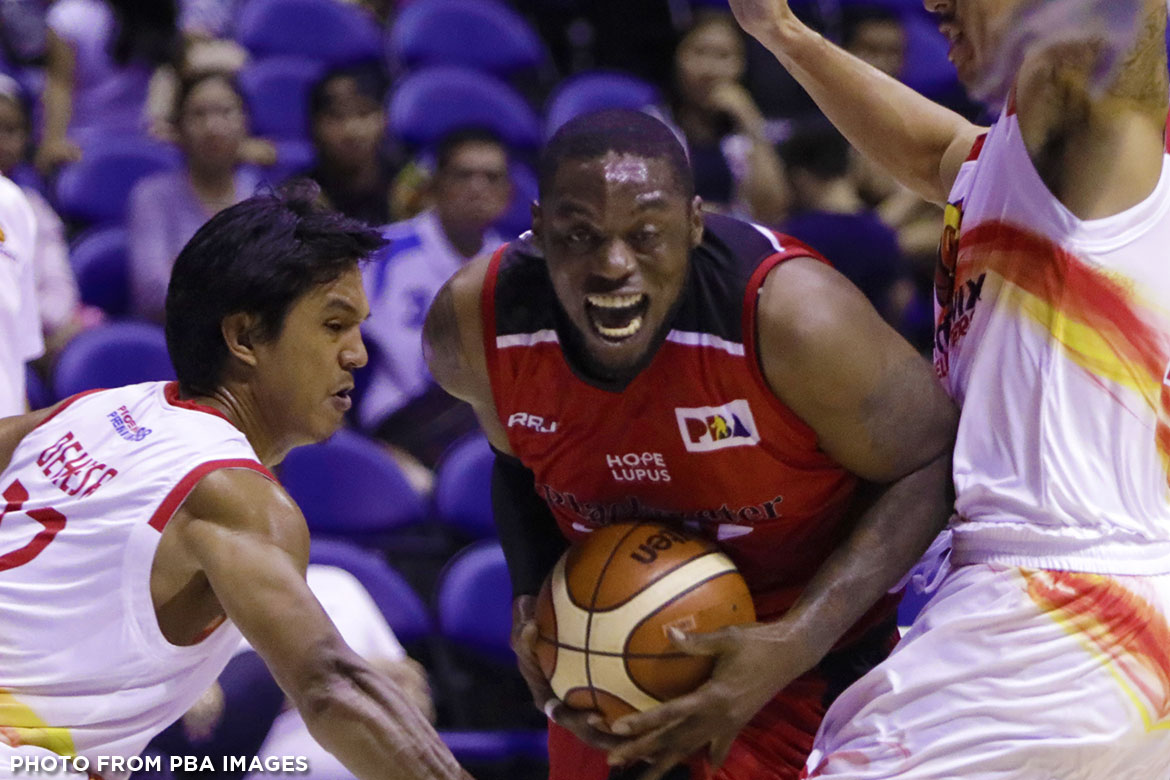 Philippine Sports News - Tiebreaker Times In his third tour of duty, Henry Walker returns with more maturity Basketball News PBA  PBA Season 42 Henry Walker Blackwater Elite 2017 PBA Governors Cup