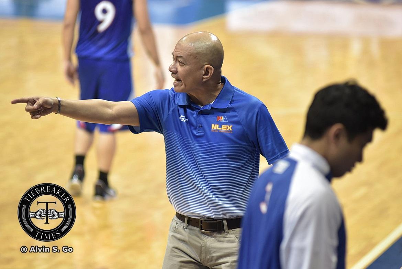 Philippine Sports News - Tiebreaker Times Yeng Guiao on Blackwater's 17 threes: 'Parang kalaban mo Korea' Basketball News PBA  Yeng Guiao PBA Season 42 NLEX Road Warriors 2017 PBA Governors Cup