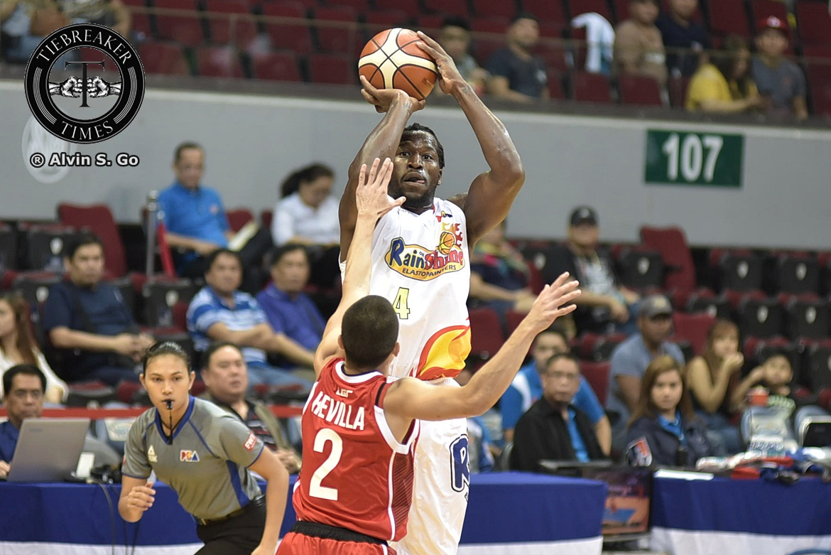 Philippine Sports News - Tiebreaker Times J'nathan Bullock ready to accept challenge of being smallest import Basketball News PBA  Rain or Shine Elasto Painters PBA Season 42 J'Nathan Bullock Caloy Garcia 2017 PBA Governors Cup