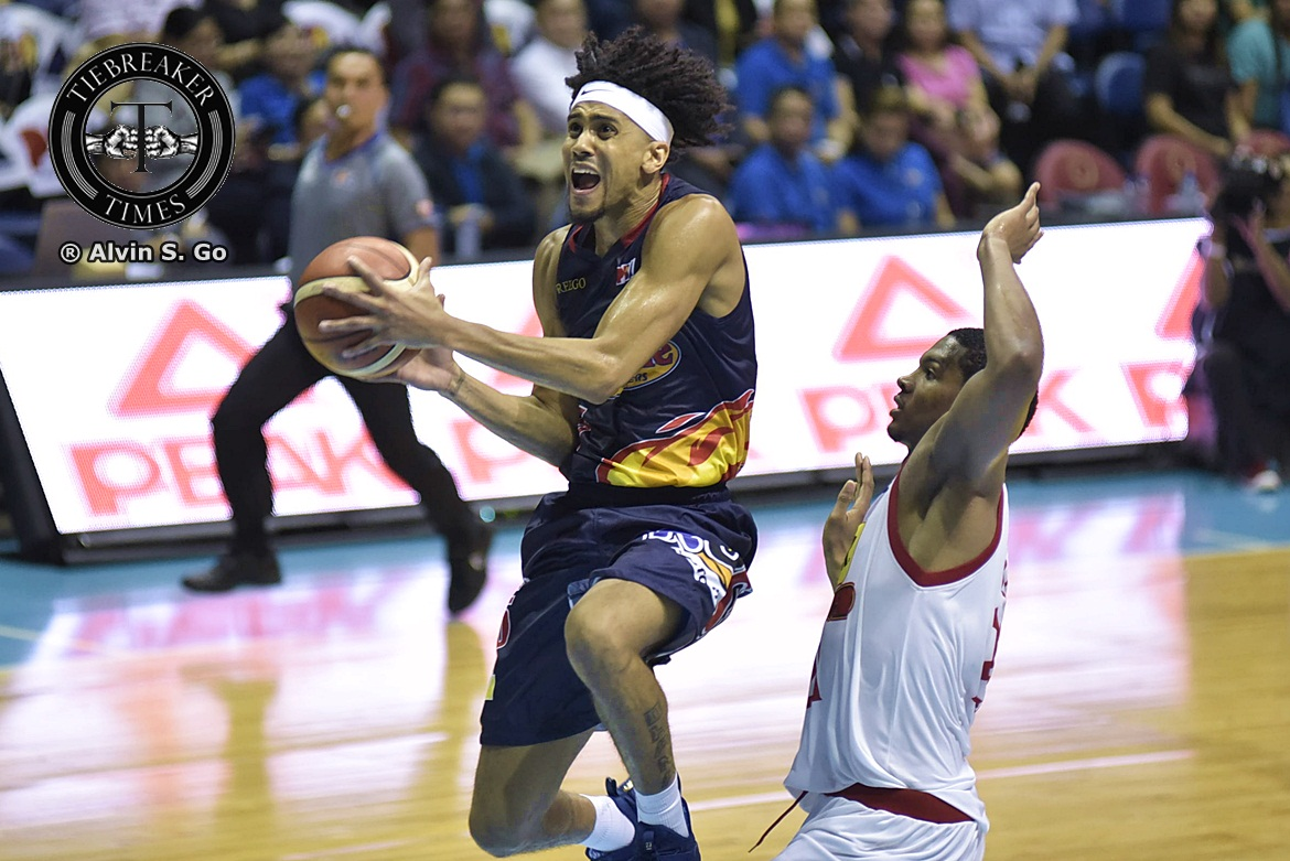 Philippine Sports News - Tiebreaker Times Gabe Norwood felt pressured in return to Rain or Shine Basketball News PBA  Rain or Shine Elasto Painters PBA Season 42 Gabe Norwood 2017 PBA Governors Cup