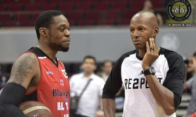 Tiebreaker Times Former Boston Celtics teammates Henry Walker and Ray Allen cross paths in Manila Basketball News PBA  Ray Allen PBA Season 42 Henry Walker Boston Celtics Blackwater Elite 2017 PBA Governors Cup