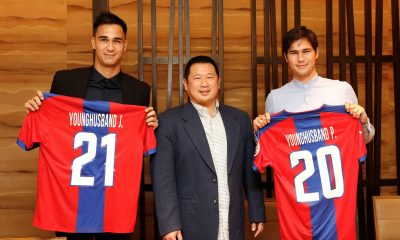 Tiebreaker Times Davao presents new signings headlined by Younghusband brothers Football News PFL  Simone Rota Phil Younghusband Nick O' Donnell Matthew Hartmann Jefferson Cheng Jason de Jong James Younghusband Davao Aguials 2017 PFL Season