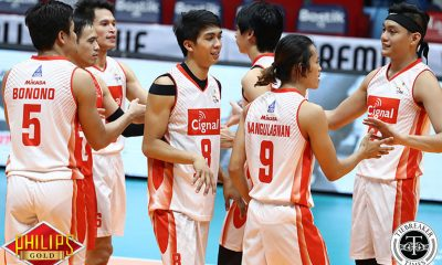 Tiebreaker Times Cignal HD shows might against Megabuilders to take Game One News PVL Volleyball  Ysay Marasigan Vince Mangulabnan Sandy Montero Peter Torres Oliver Almadro Megabuidlers Volley Bolts Francis Saura Fauzi Ismail Edmar Bonono Dante Alinsunurin Cignal HD Spikers Bryan Bagunas 2017 PVL Season 2017 PVL Men's Open Conference