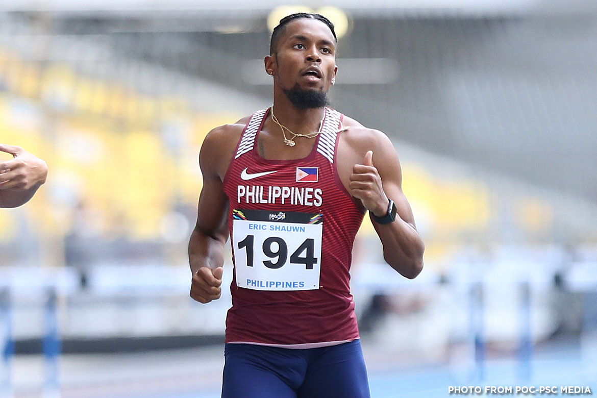 Philippine Sports News - Tiebreaker Times Eric Cray looks back on missed golden double 2017 SEA Games News Track & Field  Eric Cray 2017 SEA Games - Athletics