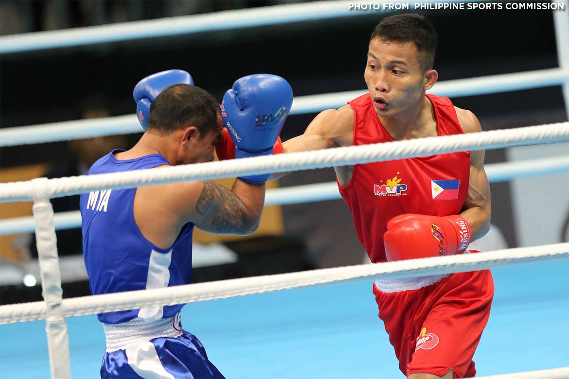 Tiebreaker Times Ian Clark Bautista, Philippines open bid for boxing domination 2017 SEA Games Boxing News  Mario Fernandez Ian Clark Bautista Eumir Marcial 2017 SEA Games - Boxing