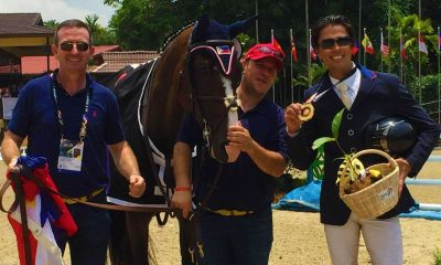 Tiebreaker Times Colin Syquia reclaims 'pet event' with gold in show jumping 2017 SEA Games Equestrian News  Colin Syquia Adventure E 2017 SEA Games - Equestrian