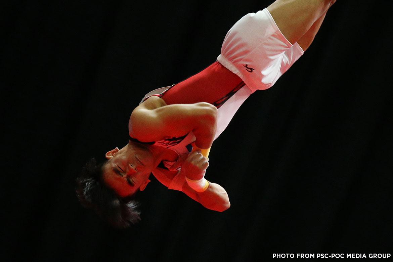 Tiebreaker Times Reyland Capellan, Kaitlin de Guzman bring home gold in gymnastics 2017 SEA Games Gymnastics News  Reyland Capellan Kaitlin de Guzman 2017 SEA Games - Gymnastics