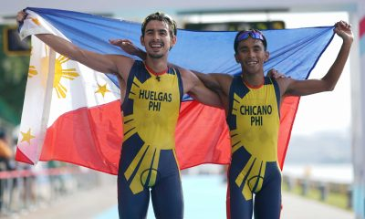 Tiebreaker Times Nikko Huelgas cruises to second gold; Philippines finishes 1-2 2017 SEA Games News Triathlon  Nikko Huelgas John Chicano 2017 SEA Games - Triathlon