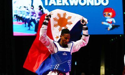 Tiebreaker Times Samuel Morrison avenges team, wins -74kg crown 2017 SEA Games News Taekwondo  Samuel Morrison Pauline Lopez Arven Alcantara 2017 SEA Games - Taekwondo