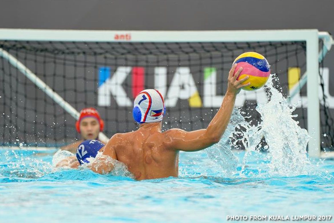 Philippine Sports News - Tiebreaker Times Malaysia sends Philippines to first loss in Water Polo 2017 SEA Games News Water Polo  Roy Canete Reynaldo Salonga Mummar Alamara 2017 SEA Games - Water Polo