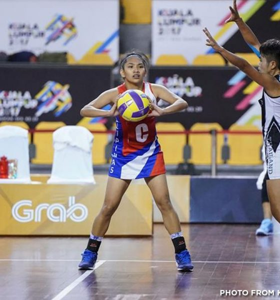 Tiebreaker Times Siklab Pilipinas shows heart despite loss to Brunei 2017 SEA Games Netball News  Siklab Pilipinas Kathryna Domingo Cathlyn Seno 2017 SEA Games - Netball