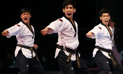 Tiebreaker Times Perfect Form: Philippines remains king of team poomsae 2017 SEA Games News Taekwondo  Rodolfo Reyes Jr Raphael Enrico Mella Dustin Jacob Mella 2017 SEA Games - Taekwondo