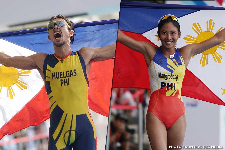 Philippine Sports News - Tiebreaker Times No rest for Nikko Huelgas, Kim Mangrobang 2017 SEA Games News Triathlon  Triathlon Association of the Philippines Nikko Huelgas Kim Mangrobang 2017 SEA Games - Triathlon