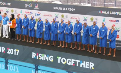 Tiebreaker Times Powerhouse Singapore shakes off gallant Philippine stand 2017 SEA Games News Water Polo  Reynaldo Salonga Reynaldo Galang Mummar Alamara Mark Valdez 2017 SEA Games - Water Polo