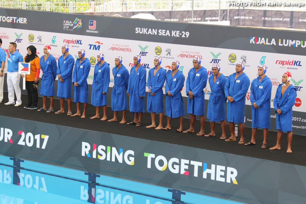 Philippine Sports News - Tiebreaker Times Philippines falls to Indonesia in Men's Water Polo, finishes out of the podium 2017 SEA Games News Water Polo  Reynaldo Salonga Jr. Mummar Alamara Dale Evangelista 2017 SEA Games - Water Polo