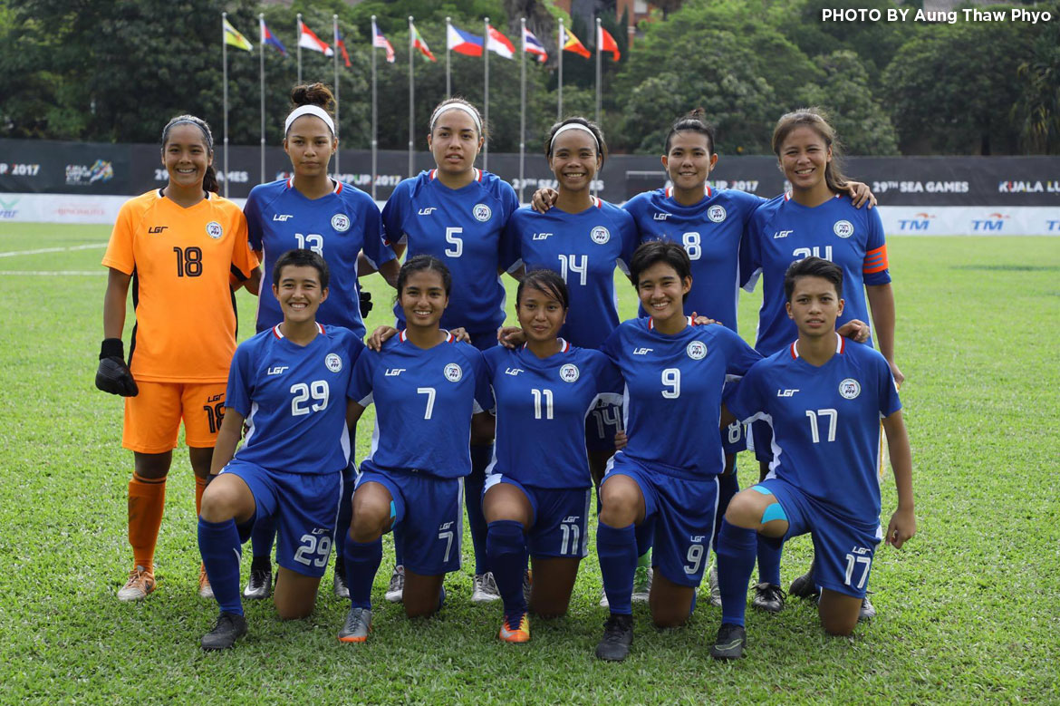 Philippine Sports News - Tiebreaker Times PWNFT, Men's Under-22 suffer losses in penultimate games 2017 SEA Games Football News Philippine Azkals Philippine Malditas  Marlon Maro Let Dimzon 2017 SEA Games - Football
