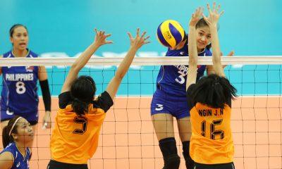Tiebreaker Times Philippines romps Malaysia in women's volleyball opener 2017 SEA Games News Volleyball  Kim Fajardo Jovelyn Gonzaga Jaja Santiago Francis Vicente Dawn Macandili Alyssa Valdez Aby Marano 2017 SEA Games - Volleyball