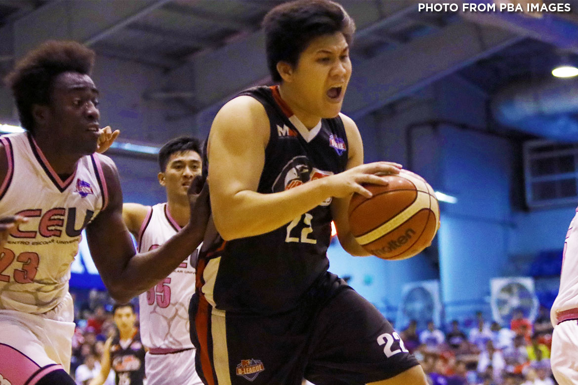 Tiebreaker Times Second D-League title bittersweet for Alfred Batino Basketball News PBA D-League  Cignal HD Hawkeyes CEU Scorpions Alfred Batino 2017 PBA D-League Season 2017 PBA D-League Foundation Cup