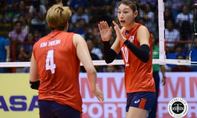 Tiebreaker Times KYK sees improvement in Philippine Volleyball 2017 Asian Women's News Volleyball  South Korea (Volleyball) Kim Yeon Koung