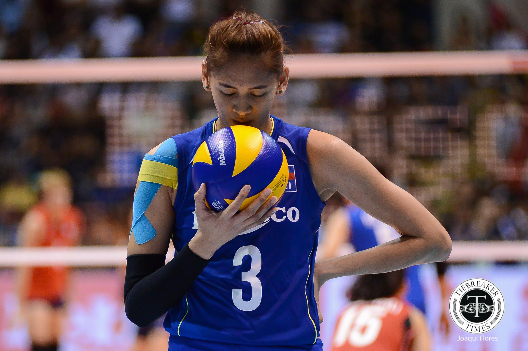 Philippine Sports News - Tiebreaker Times Philippines slips against Chinese Taipei, remains in hunt for seventh place 2017 Asian Women's News Volleyball  Wei-Hua Wu Kim Fajardo Jaja Santiago Francis Vicente Dawn Macandili Chinese Taipei (Volleyball) Alyssa Valdez