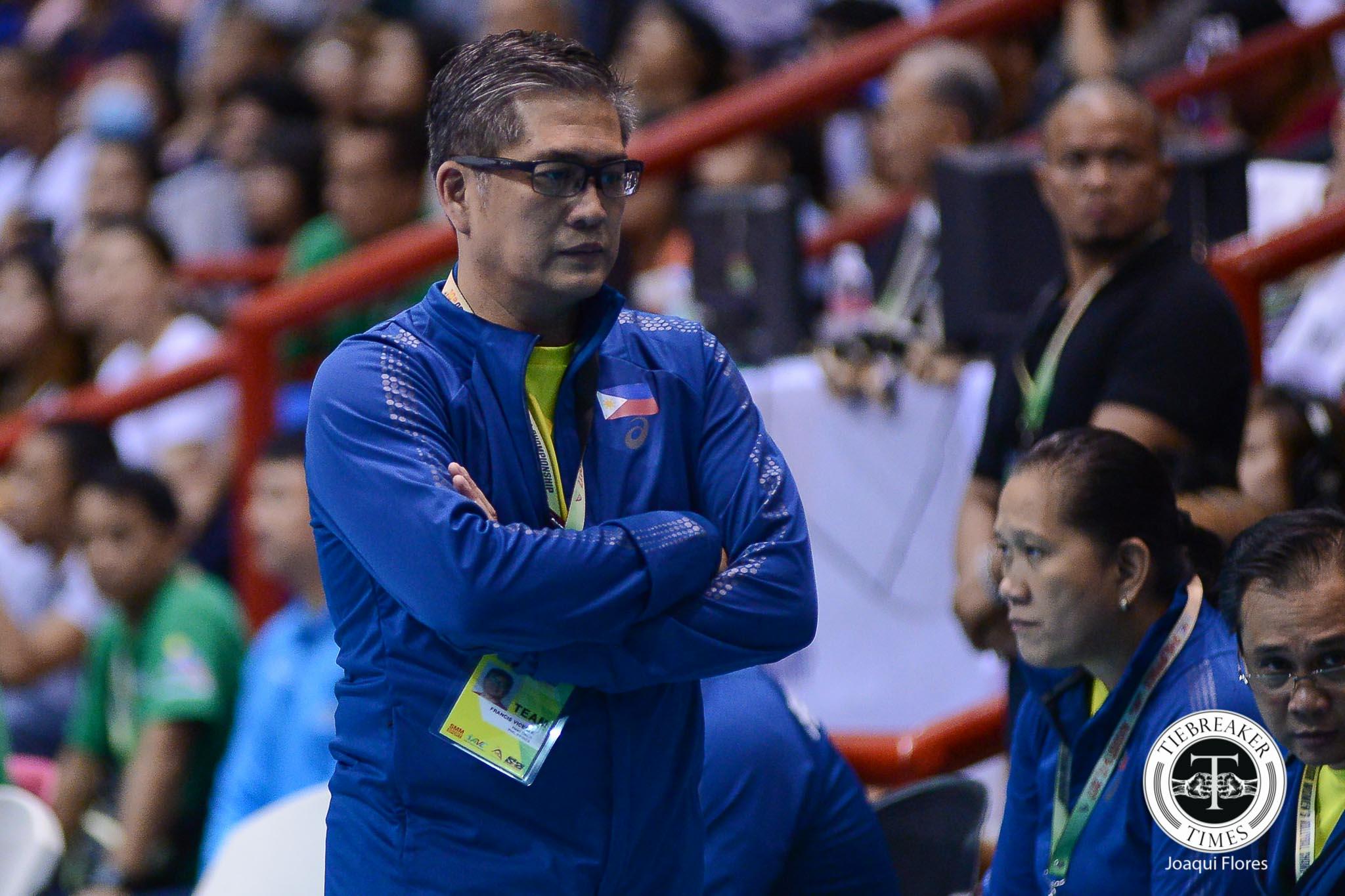 Tiebreaker Times Francis Vicente believes Philippines can show bigger heart against taller Kazakhstan 2017 Asian Women's News Volleyball  Kazakhstan (Volleyball) Francis Vicente