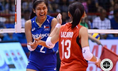 Tiebreaker Times Mixed emotions for Alyssa Valdez as she starts Taiwan stint News Volleyball  Attack Line Alyssa Valdez 2017 Taiwan Volleyball League season