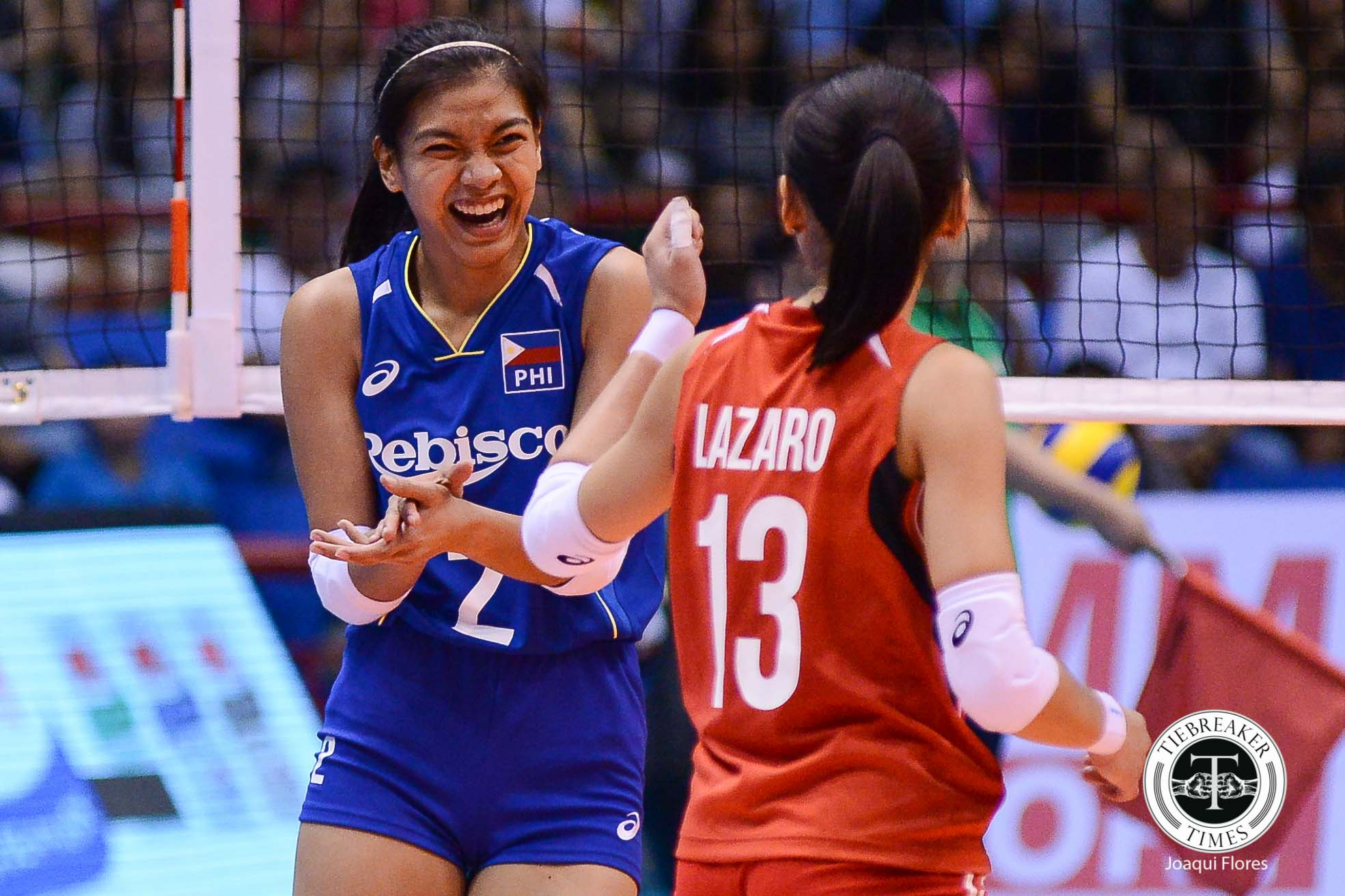 Philippine Sports News - Tiebreaker Times Mixed emotions for Alyssa Valdez as she starts Taiwan stint News Volleyball  Attack Line Alyssa Valdez 2017 Taiwan Volleyball League season