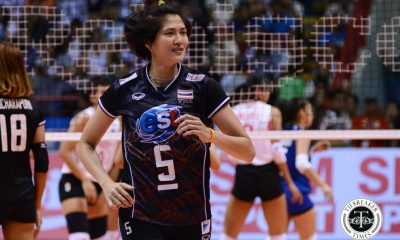 Tiebreaker Times Pleumjit Thinkaow praises Philippines' work ethic 2017 Asian Women's News Volleyball  Wilavan Apinyapong Thailand (Volleyball) Pleumjit Thinkaow