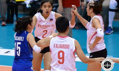 Tiebreaker Times Philippines musters early spurt, falls to powerhouse Thailand News Volleyball  Thailand (Volleyball) Shaq delos Santos Philippine Women's National Volleyball Team Moksri Chachu-on Kokram Pimpichaya Kianna Dy Jia Morado Jaja Santiago Denden Lazaro Ayssa Valdez Alyssa Valdez 2018 Asian Games-Volleyball 2018 Asian Games