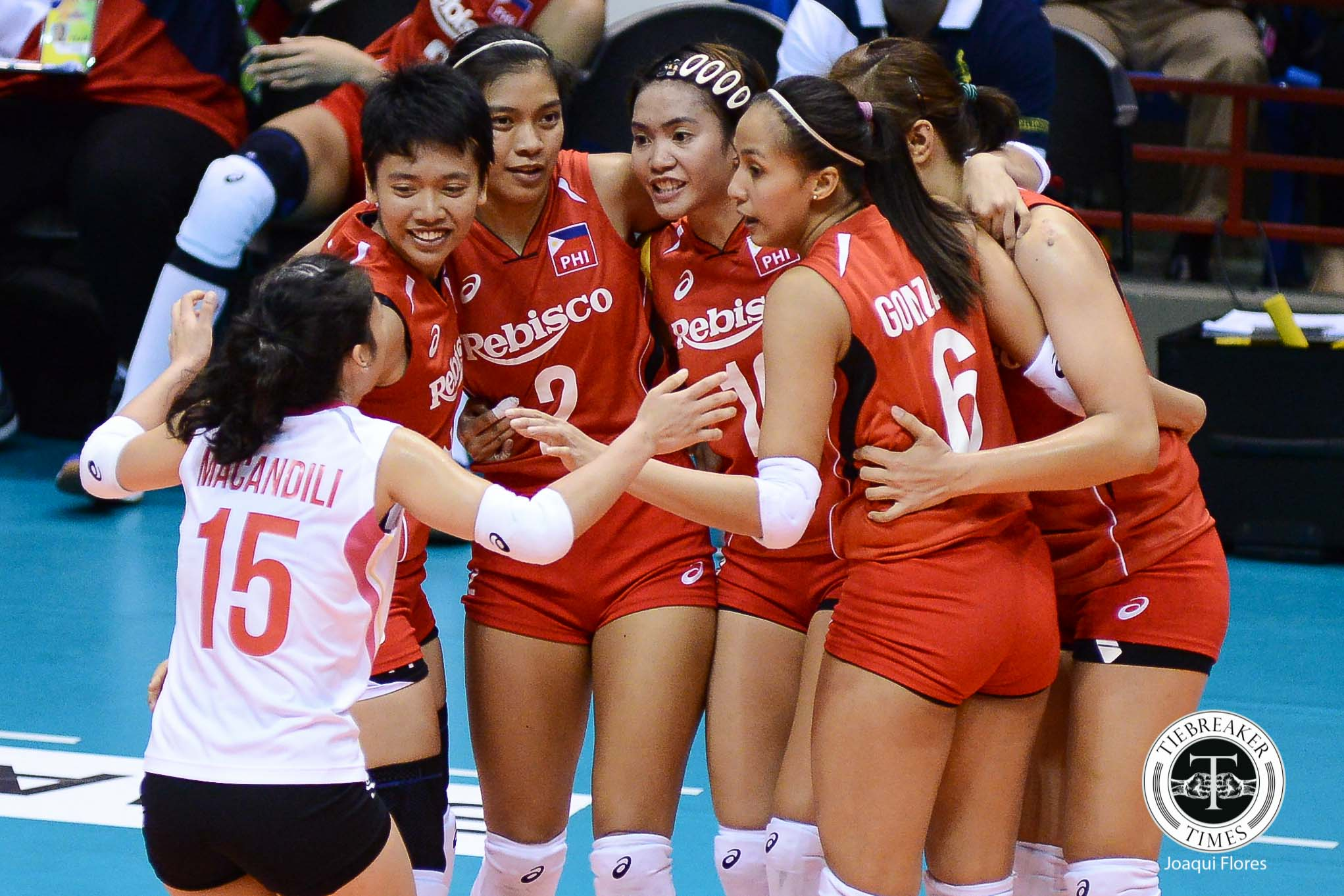 Philippine Sports News - Tiebreaker Times The National Team never stopped believing 2017 Asian Women's News Volleyball  Francis Vicente Dawn Macandili Alyssa Valdez
