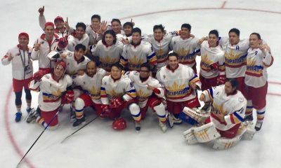 Tiebreaker Times Philippines escapes Thailand to clinch first-ever SEA Games gold in ice hockey 2017 SEA Games Ice Hockey News  Paul Gabriel Sanchez Gianpetro Iseppi Francois Gautier Benjamin Imperial 2017 SEA Games - Ice Hockey