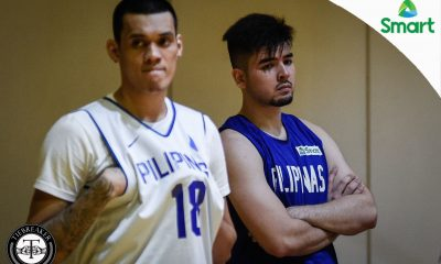 Tiebreaker Times Ten Asia Cup players present; Andre Paras trains with Gilas Basketball Gilas Pilipinas News  Von Pessumal Terrence Romeo Roger Pogoy Raymar Jose Mike Tolomia Matthew Wright Mac Belo Kobe Paras Kiefer Ravena Kevin Ferrer June Mar Fajardo Jiovani Jalalon Gabe Norwood Fonzo Gotladera Ed Daquioag Christian Standhardinger Carl Cruz Calvin Abueva Bobby Ray Parks Jr. André Paras Almond Vosotros 2017 SEA Games - Basketball 2017 FIBA Asia Cup