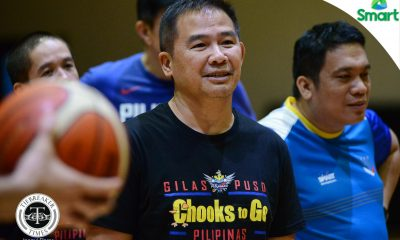 Tiebreaker Times SMART Gilas resumes preps on eve of closed-door tune-up with Tanduay Alab 2019 FIBA World Cup Qualifiers Basketball Gilas Pilipinas News  Troy Rosario Roger Pogoy Raymond Almazan Matthew Wright Mac Belo Kiefer Ravena Kevin Alas June Mar Fajardo Jayson Castro Japeth Aguilar Gabe Norwood Chot Reyes Carl Bryan Cruz Calvin Abueva Allein Maliksi 2019 FIBA World Cup Qualifiers Group B