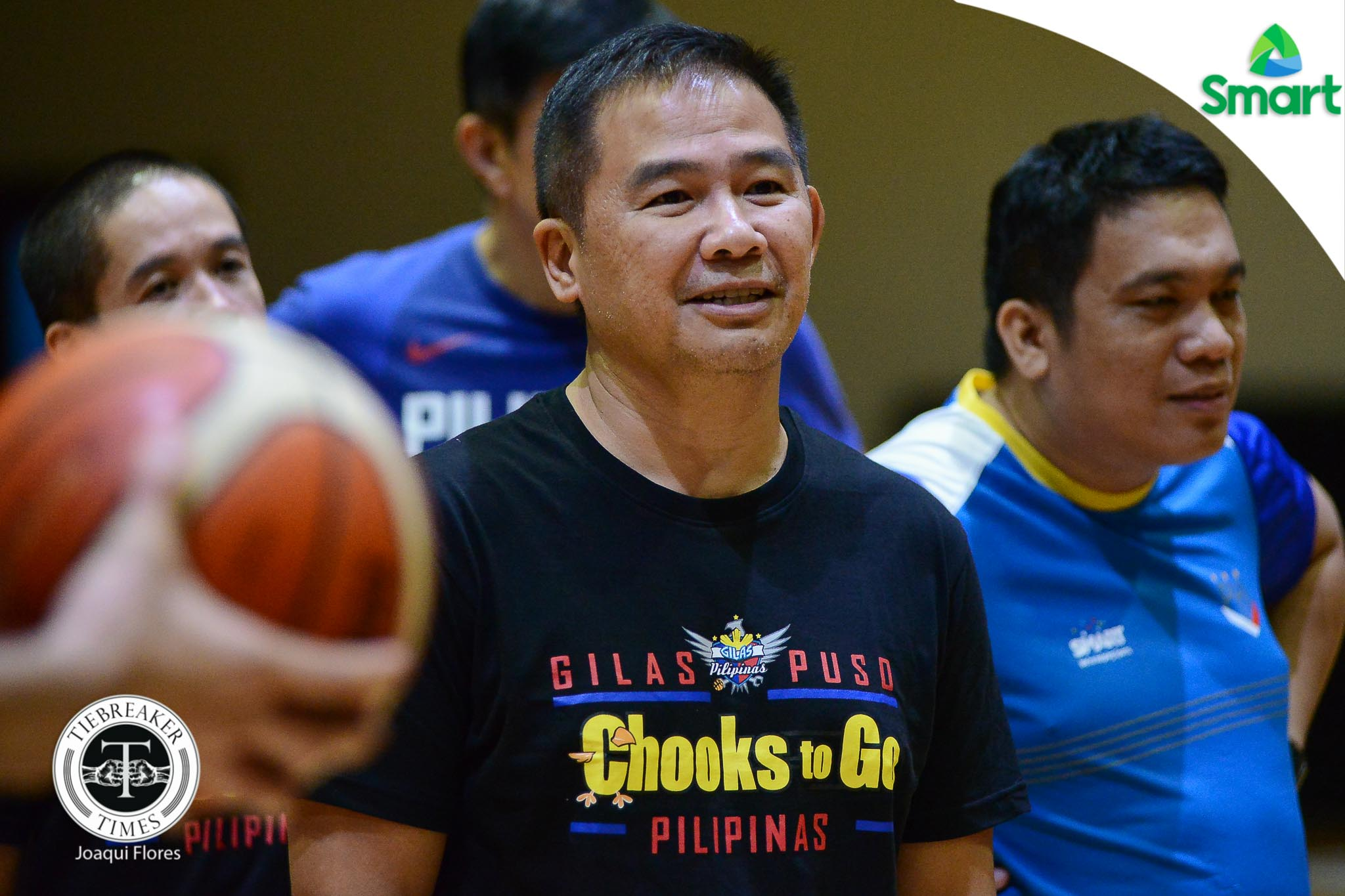 Philippine Sports News - Tiebreaker Times Chot Reyes glad to see Andray Blatche arrive in shape 2019 FIBA World Cup Qualifiers Basketball Gilas Pilipinas News  Chot Reyes Andray Blatche 2019 FIBA World Cup Qualifiers Group B