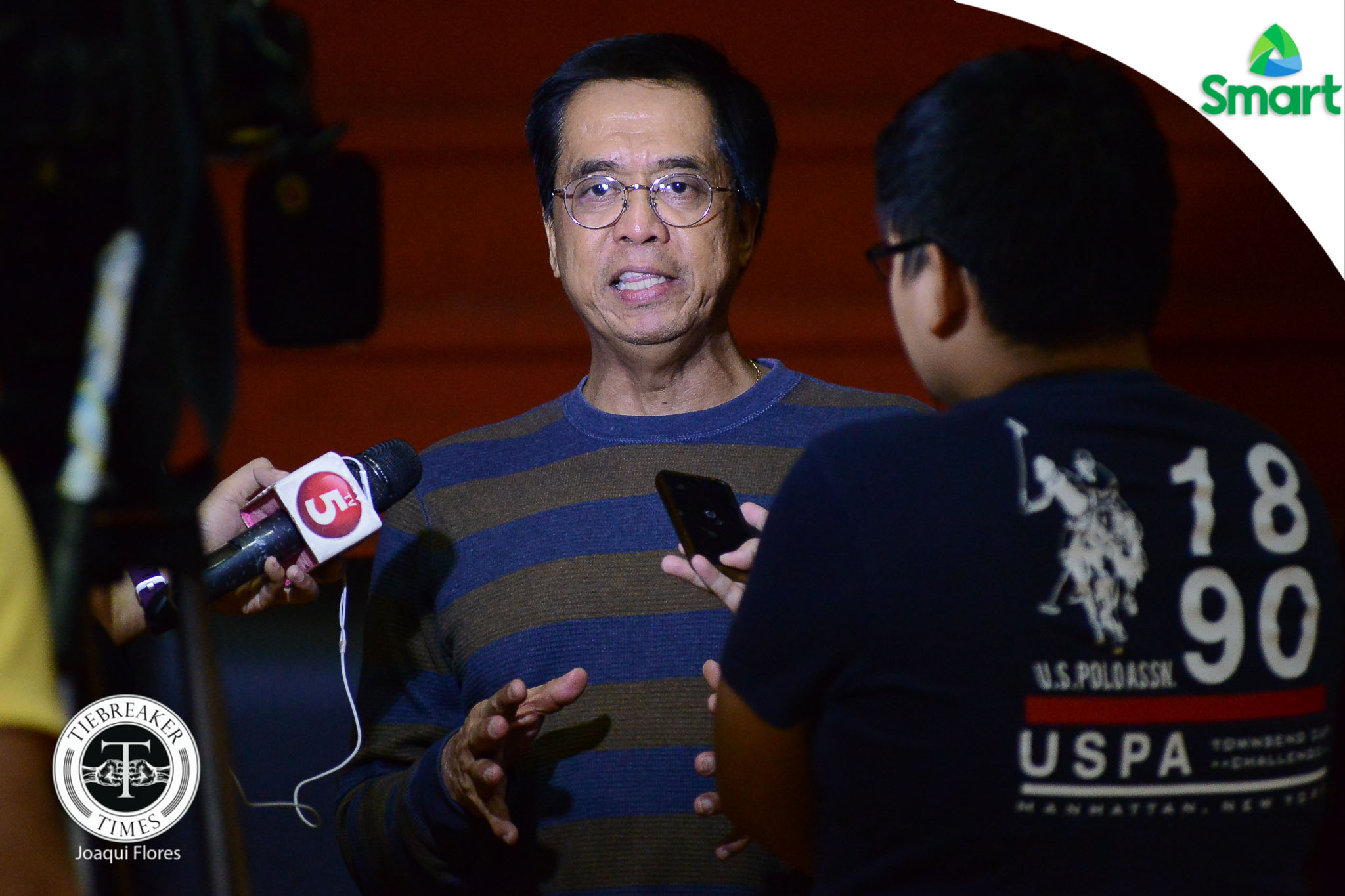 Philippine Sports News - Tiebreaker Times Chito Narvasa commends Chooks-to-Go for 'eagerness to help' PH basketball Basketball News PBA  Ronald Mascarinas PBA Season 42 Chooks-to-Go Chito Narvasa