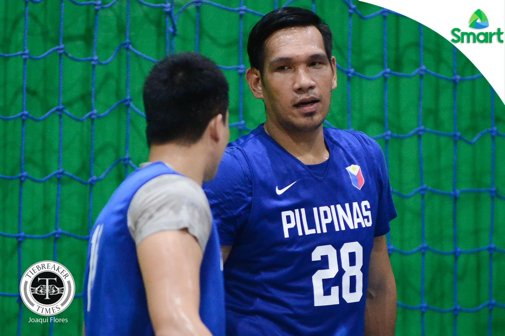 Philippine Sports News - Tiebreaker Times June Mar Fajardo ready to play against South Korea Basketball Gilas Pilipinas News  June Mar Fajardo Chot Reyes 2017 FIBA Asia Cup
