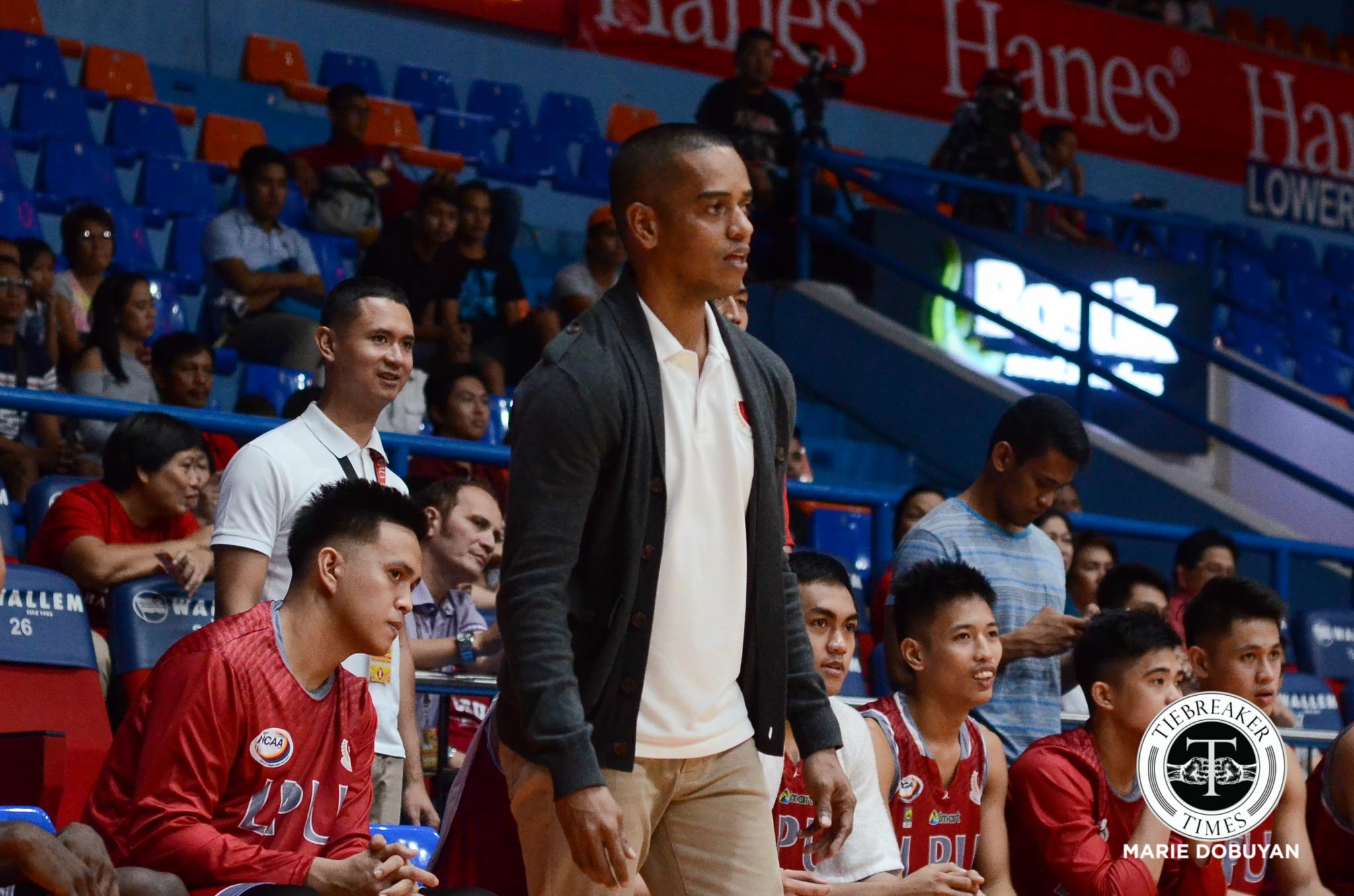 Philippine Sports News - Tiebreaker Times Loss to Saint Benilde a year ago still stings for Lyceum Basketball LPU NCAA News  Topex Robinson NCAA Season 93 Seniors Basketball NCAA Season 93 Lyceum Seniors Basketball