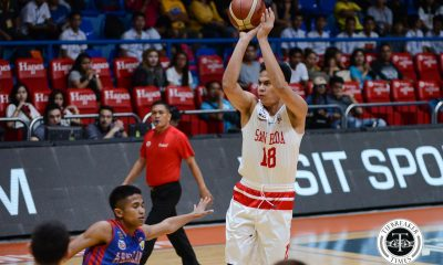 Tiebreaker Times Ben Adamos leaves San Beda, looks to transfer to another NCAA school Basketball NCAA News SBC UPHSD  San Beda Seniors Basketball Perpetual Seniors Basketball NCAA Season 94 Seniors Basketball NCAA Season 94 Ben Adamos