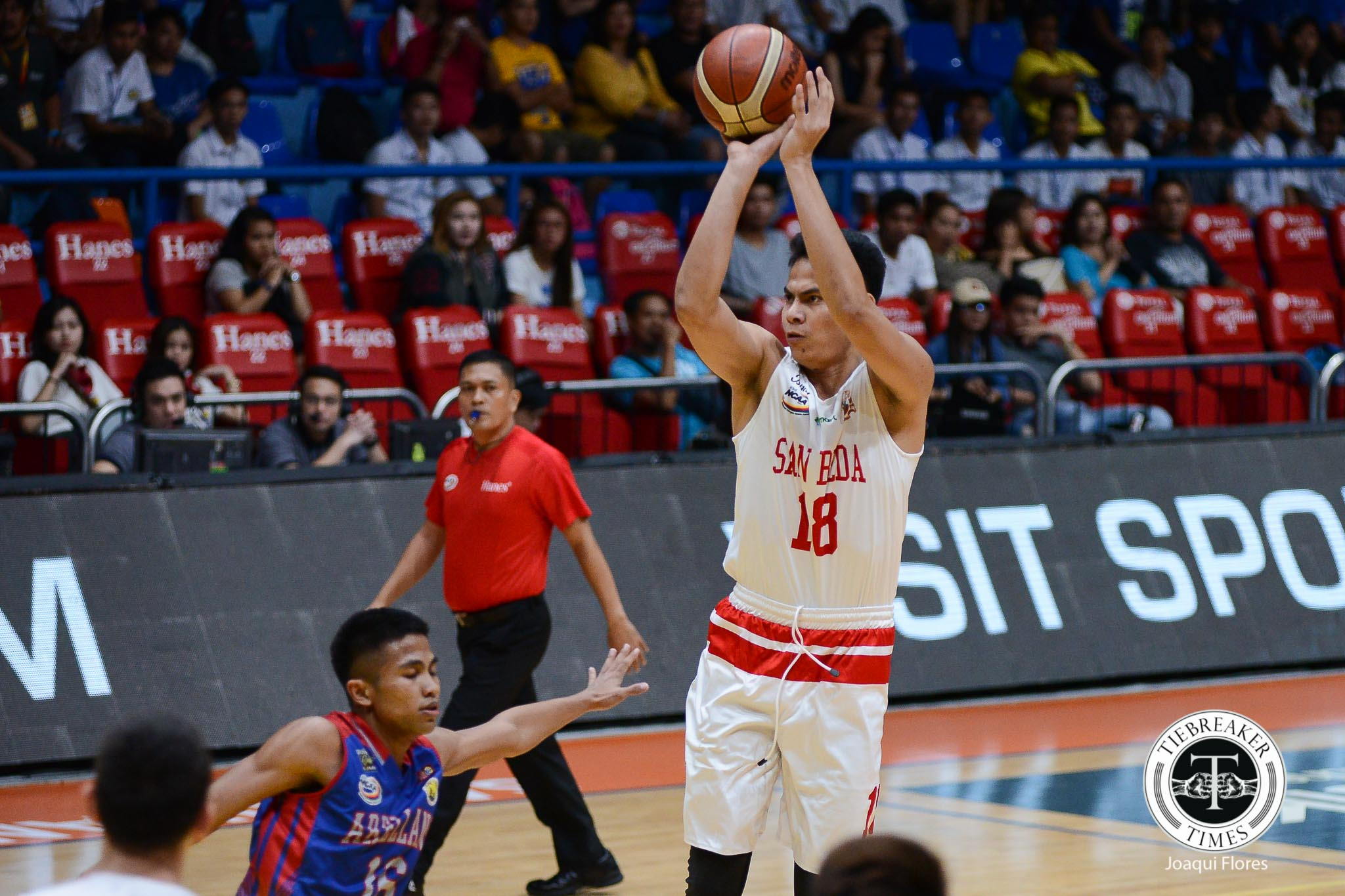 Philippine Sports News - Tiebreaker Times Ben Adamos leaves San Beda, looks to transfer to another NCAA school Basketball NCAA News SBC UPHSD  San Beda Seniors Basketball Perpetual Seniors Basketball NCAA Season 94 Seniors Basketball NCAA Season 94 Ben Adamos