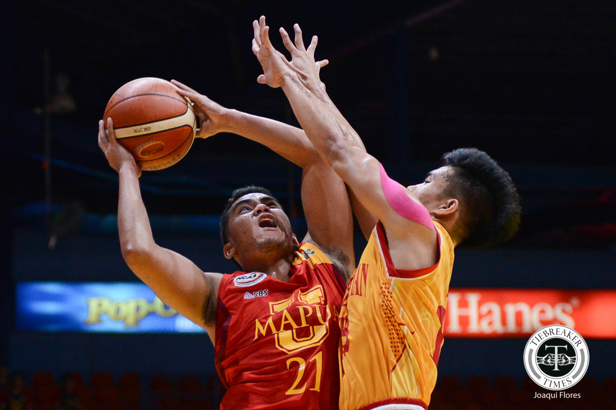Philippine Sports News - Tiebreaker Times Down to just 11 Cardinals, Mapua aces Andrew Estrella, Leo Gabo suffer injuries Basketball MIT NCAA News  NCAA Season 93 Seniors Basketball NCAA Season 93 Mapua Seniors Basketball Leo Gabo Atoy Co Andrew Estrella