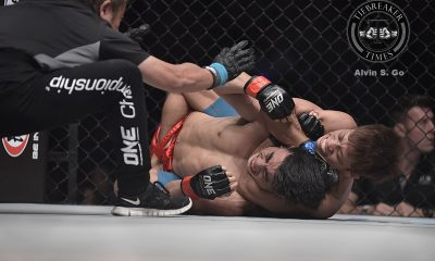 Tiebreaker Times Hayato Suzuki derails Joshua Pacio's title aspirations Mixed Martial Arts News ONE Championship  Team Lakay ONE: Kings and Conquerors Joshua Pacio Hayato Suzuki