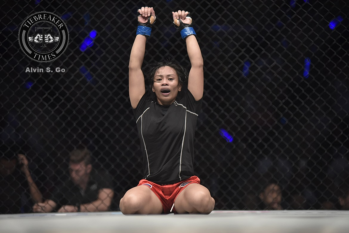 Philippine Sports News - Tiebreaker Times Jomary Torres looks to sustain winning run Mixed Martial Arts News ONE Championship  ONE: Hero's Dream Jomary Torres