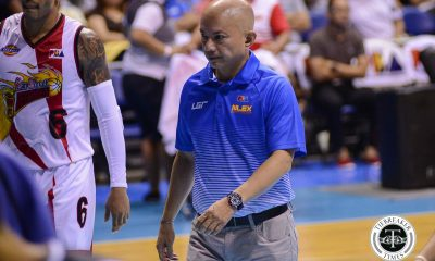 Tiebreaker Times Yeng Guiao keeps trust in board of governors amid PBA impasse Basketball News PBA  Yeng Guiao PBA Season 43 NLEX Road Warriors 2017-18 PBA Philippine Cup