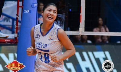 Tiebreaker Times Pocari Sweat-Air Force closes campaign with win over Adamson-Akari AdU News PVL Volleyball  Wendy Semana Pocari Sweat-Air Force Lady Warriors Myla Pablo Jellie Tempiatura Jasper Jimenez Eli Soyud Chiara Permentilla Akari-Adamson Lady Falcons Air Padda 2018 PVL Season 2018 PVL Open Conference