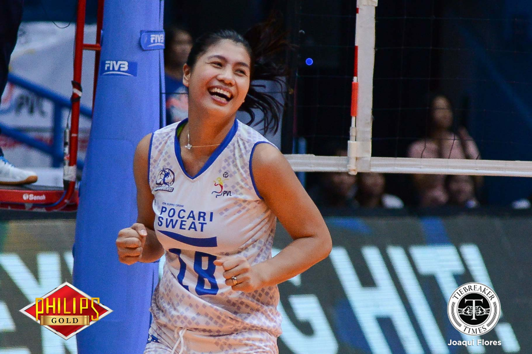 Philippine Sports News - Tiebreaker Times Myla Pablo offers no excuses after first Finals loss News PVL Volleyball  Pocari Sweat Lady Warriors Myla Pablo 2017 PVL Women's Open Conference 2017 PVL Season