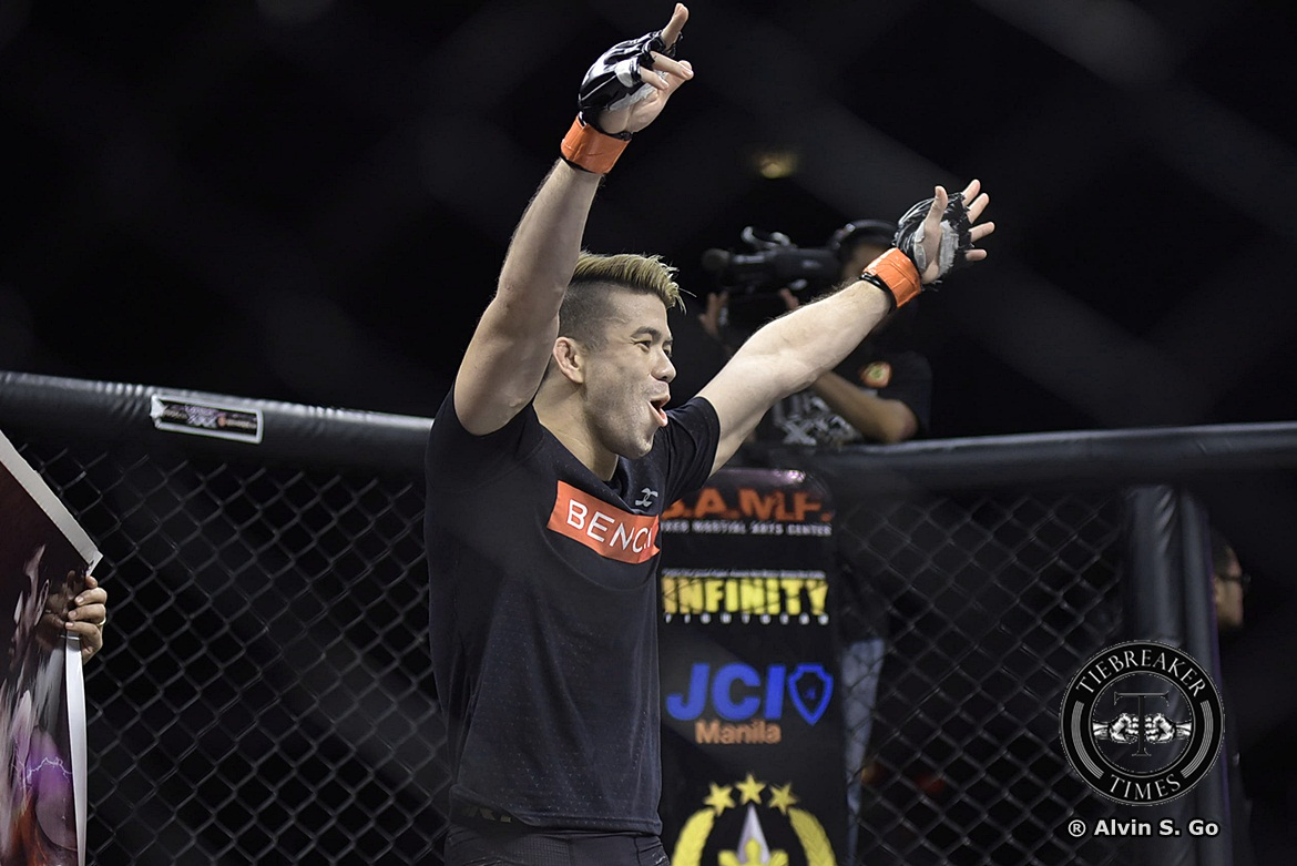 Tiebreaker Times Mark Striegl hopes Las Vegas gamble ends up with UFC contract Mixed Martial Arts News UFC  Mark Striegl Alliance MMA