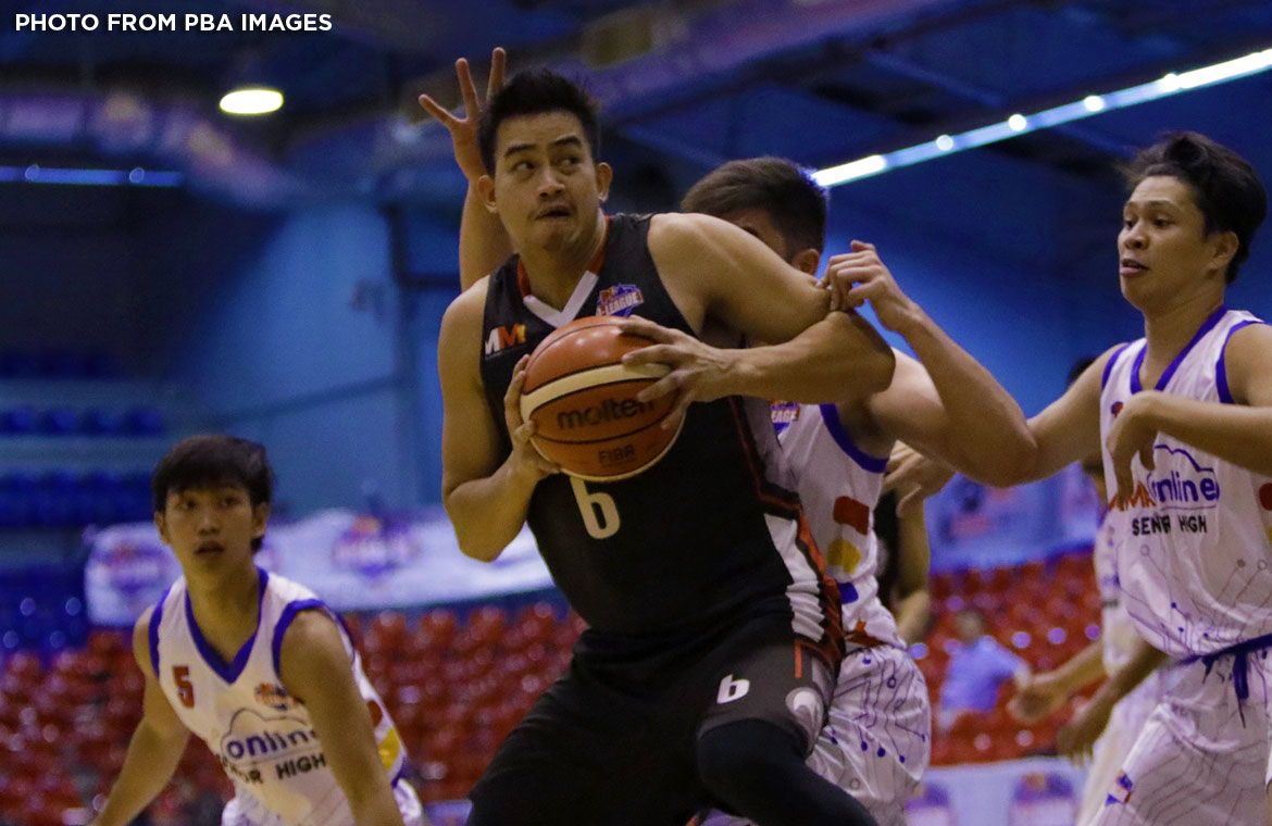 Philippine Sports News - Tiebreaker Times Raymar Jose glad that bruisers like him are finally given recognition Basketball News PBA D-League  Raymar Jose Cignal HD Hawkeyes 2017 PBA D-League Season 2017 PBA D-League Foundation Cup